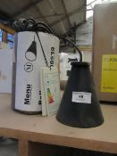 | 1X | MENU BOLLARD LAMP | LOOKS UNUSED (NO GUARANTEE) AND BOXED | RRP £100.00 |