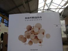 | 1X | NORMANN COPENHAGEN BAU LAMP SMALL | BOXED AND UNCHECKED | RRP £128 |