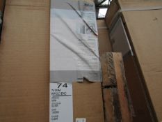 Mira 1000mm clear glaze pivot door enclosure, new and boxed. 108020