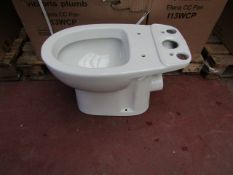 Victoria Plumb Elena CC pan I13WCP toilet pan, new and boxed.