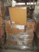 12 x Pallet as seen , will contain a variety of assorted packaging items , unmanifested . See lot