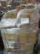 1 x Pallet as seen , will contain a variety of assorted packaging items , unmanifested . See lot 0