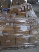 14 x Pallet as seen , will contain a variety of assorted packaging items , unmanifested . See lot