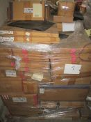 9 x Pallet as seen , will contain a variety of assorted packaging items , unmanifested . See lot 0
