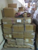 5 x Pallet as seen , will contain a variety of assorted packaging items , unmanifested . See lot 0