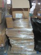 3 x Pallet as seen , will contain a variety of assorted packaging items , unmanifested . See lot 0