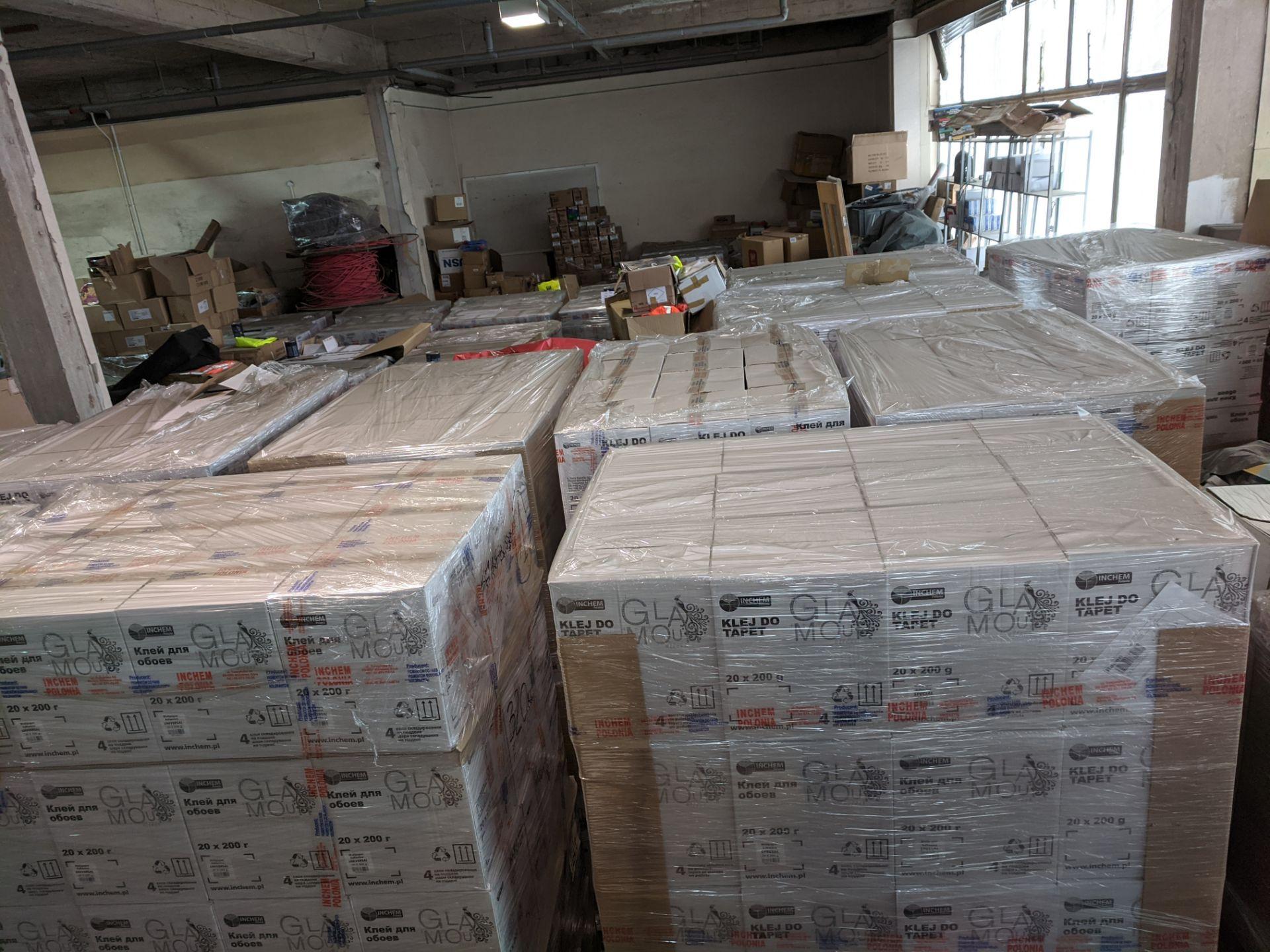 Pallet containing 432 tins Brand new 750ml - Sealed Lazura High Quality Matt Finish Varnish Glaze