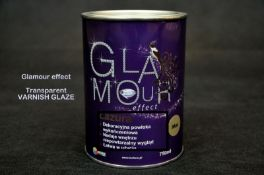 Pallet containing 432 tins Brand new 750ml - Sealed Lazura High Quality Gloss Finish Varnish Glaze