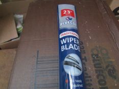 """10x Bluecol - 23"""" Traditional Wiper Blade - Unused & Packaged & Boxed."""