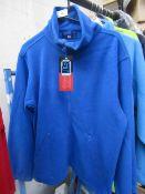ST WorkWear - Blue Full Zip Fleece Jacket - Size Small - Original Tags.