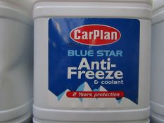 2x Car Plan - Blue Star Anti-Freeze - 2.5 Litres - Sealed.