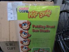 5x AutoCare - Folding Front Sun Shade 130x60cm - Unused & Packaged.