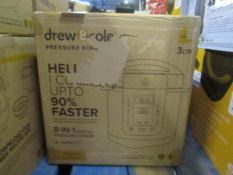 | 1X | PRESSURE KING PRO 8 IN 1 3LTR | REFURBISHED AND BOXED | NO ONLINE RESALE | RRP £49.99 | TOTAL