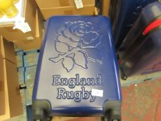 England Rugby Small Travel CAse. Unused