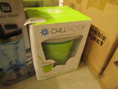 ChillFactor - Make Frozen Yoghurt - Unchecked & Boxed with Homiu - Electric Protein Mixer Bottle -