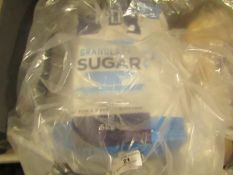 Tate & Lyle - Granulated Sugar 5Kg - Package Split, Has Been Repaired.