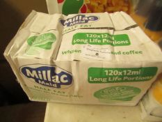 Millac Maid - Half Fat Whitener (120x12ml) - 22/09/20 - Box Crinkled.