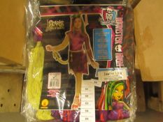 Monster High - Scaris City of Freights JinaFire Long Children's Costume - Unchecked & Packaged.