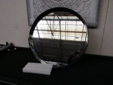 | 1X | MADE.COM BEX LARGE MIRROR 76CM | UNCHECKED AND BOXED |