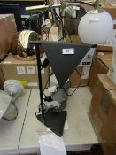 | 1X | KIRI TABLE LAMP IN BLACK | UNCHECKED | RRP £89 |