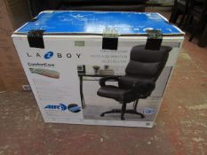 La Z boy executive office chair, boxed and unchecked