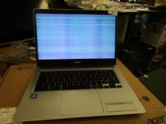 """Acer CB314 Series Model N19Q2 14"""" Chromebook.Powers on But Has Lines Across The Screen. Has"""