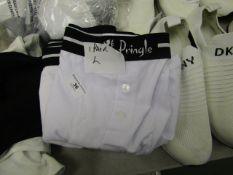 4 Pairs of Pringle Boxer Shorts. 3 x XL & 1 x L. Unworn.