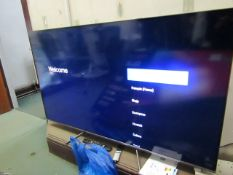 """TCL 55C715KX1 55"""" 4K TV. Tested Working. Comes with Box & Remote"""