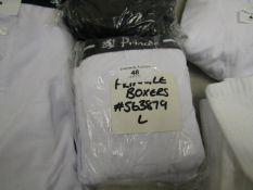 4 Pairs of Pringle Size L Boxer Shorts. Unworn. RRP £27.99