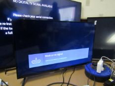 """Hisence 32A5600FTUK 32"""" Tv. Tested Working, Boxed, Comes with Stand & Remote"""