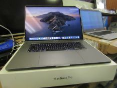 """Apple 16"""" Macbook Pro A2141. 512GB SSD In Space Grey.Powers on & Goes through to Home Screen. Have"""
