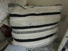 Black & White Scatter Cushion. Look Unused