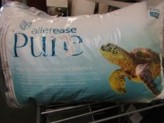 Allerease Pure Pillow. Fibre Filled. Unused