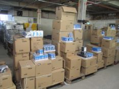 50pcs Brand New Megaman LED Bulbs - Variety of fittings picked from stock at random - pictures are