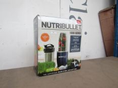 | 1X | NUTRI BULLET 1000 SERIES | UNCHECKED AND BOXED | NO ONLINE RE SALE | SKU C5060191464734 | RRP