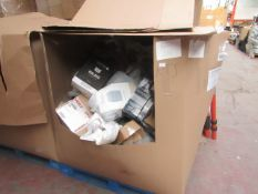 | 1X | PALLET CONTAINING APPROX OVER 25X VARIOUS KITCHEN ELECTRICALS | UNCHECKED | NO ONLINE RE-SALE