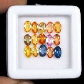 Natural Sapphires - 4.10 carats - 15 pieces - Average retail value £1,698.97