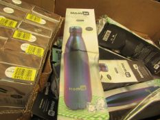 Homiu 750ml Hot & Cold Bottle. Box is damaged but product seems fine