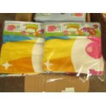 2 x Moshi Monsters i Love Summer Towels. 70cm x 140cm. New & Packaged