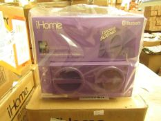 iHome Bluetooth Speaker. Unused & Packaged. Ideal Stocking Filler!