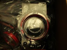 4 x 5 Seconds of Summer In Ear Wrap Around Headphones. Packaged