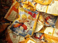 5 x Dragon Balls Goku vs Freezer 3D figures. New & Packaged