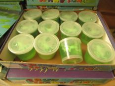 Box of 12 Pots of Spawn Slime. unused & Boxed