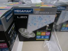 Megaman dimmable bulb, new and boxed. 900 Lumens / G53 / 40,000Hrs