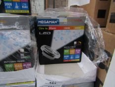 5x Megaman dimmable bulb, new and boxed. 850 Lumens / G53 / 40,000Hrs