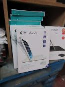 10x Logitech - Ultrathin Magnetic Clip-On Keyboard Cover - For iPad Air - unchecked & Boxed
