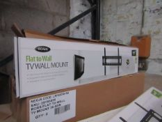 Ross - Flat To Wall Tv Mount - 127-216cm - unchecked & Boxed