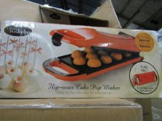 4x Giles & Posner - Flip-Oven Cake Pop Maker - new & Boxed