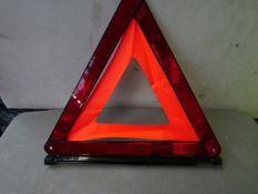 6x Warning Triangles - All New & Boxed.
