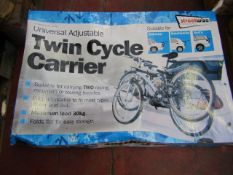 Streetwize - Twin Cycle Carrier (Universal/Adjustable) - (Suitable for Saloons/Hatchbacks) -